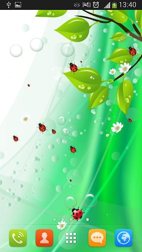 無料个人化Appのてんとう虫のライブ壁紙|記事Game
