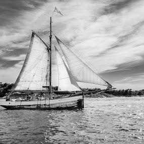 Exploring the world! by Bjørn Kristiansen - Transportation Boats ( sweden, boat )