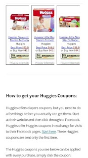 Mobile Coupons- screenshot thumbnail