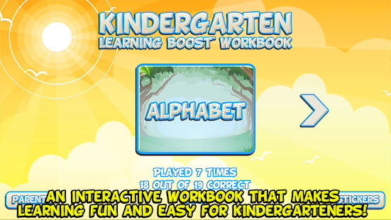 Kindergarten Workbook - Android Apps on Google Play