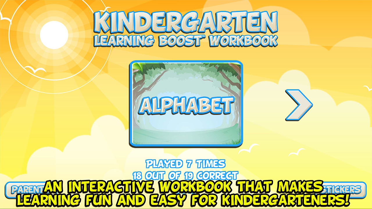 Kindergarten - Learning Boost Workbook- screenshot