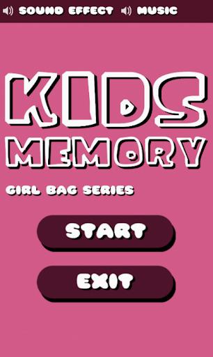Kids Memory Girl Bag Series