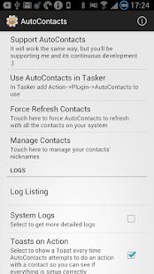 AutoContacts - screenshot thumbnail