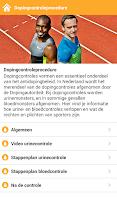 Screenshot of Dopingwaaier