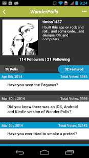 Wonder Polls: Free Version - screenshot thumbnail