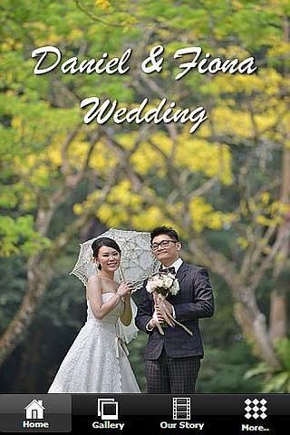 Daniel and Fiona Wedding
