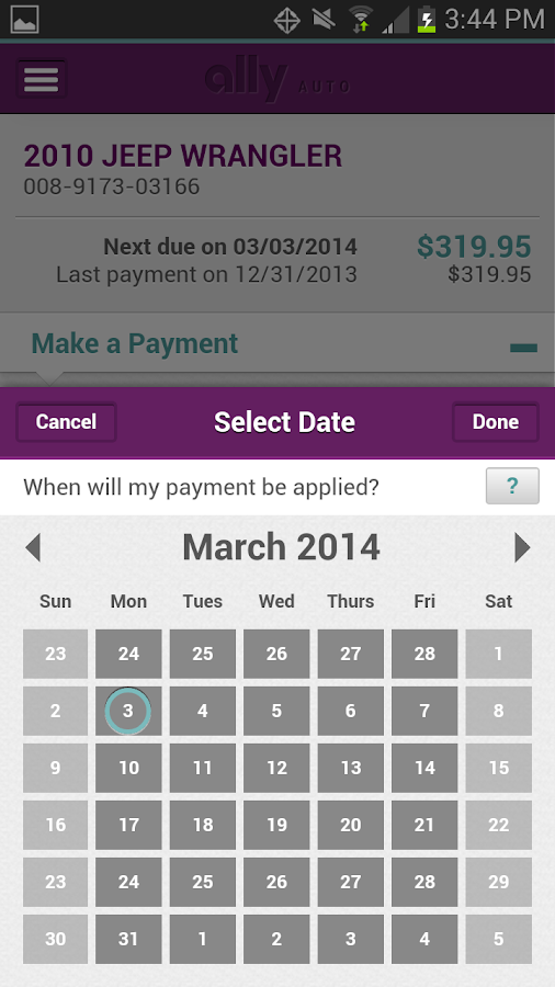 Ally Financial Payment >> Ally Auto Mobile Pay - Android Apps on Google Play