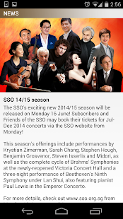 Singapore Symphony Orchestra- screenshot thumbnail