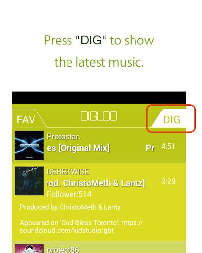 【免費音樂App】DIGLOO-APP點子