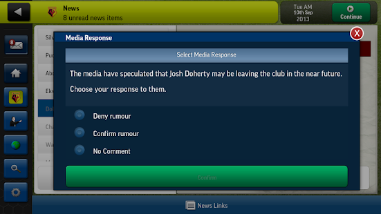 Football Manager Handheld 2014 - screenshot thumbnail