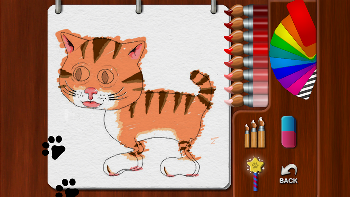 Paint My Cat - screenshot