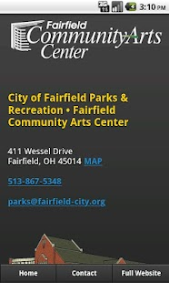 Fairfield Community Arts- screenshot thumbnail