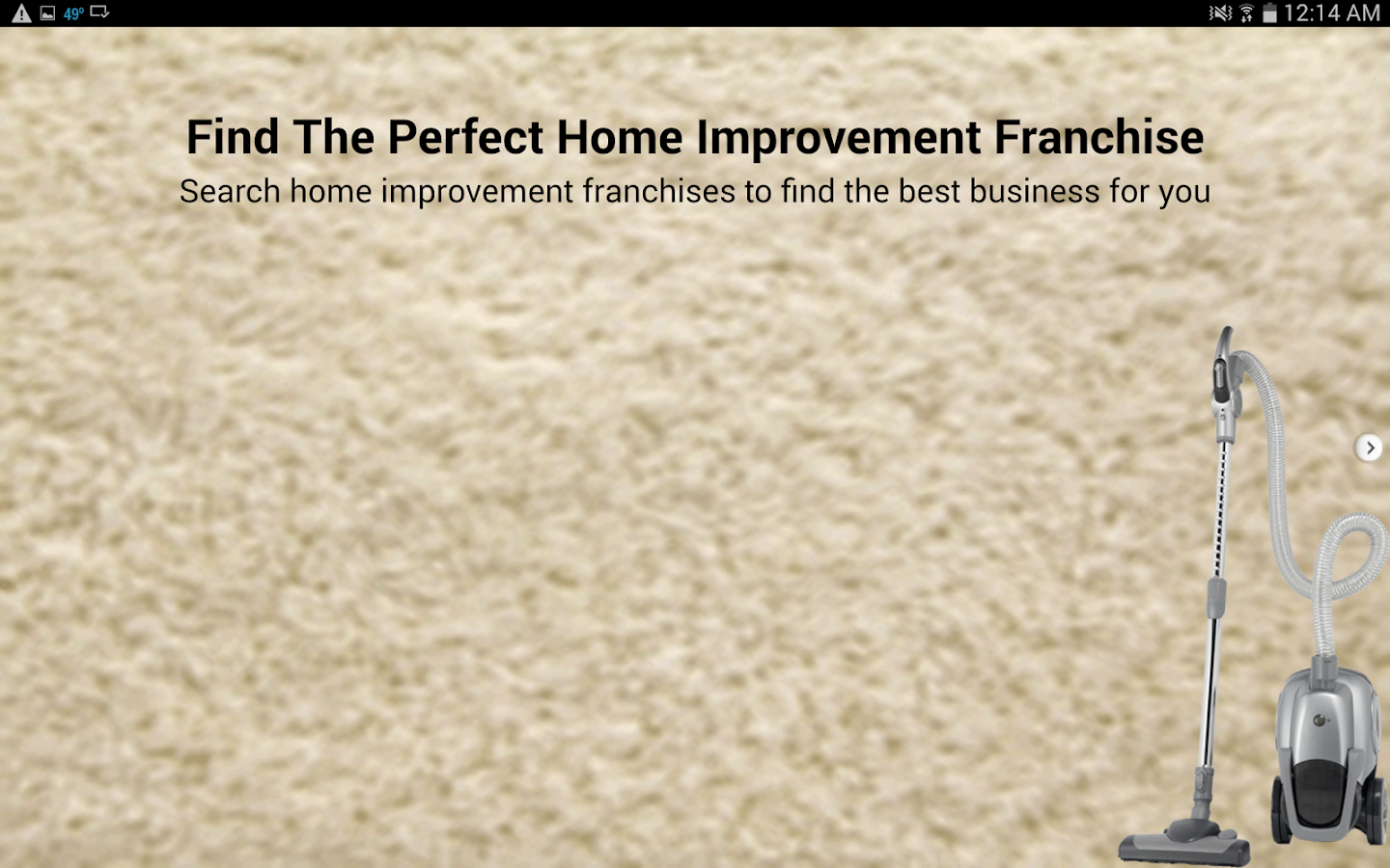 Home Improvement Franchises- screenshot