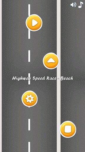 Highway Speed Race Beach