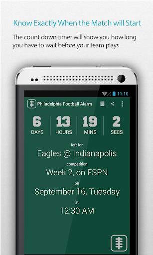 Philadelphia Football Alarm