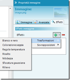 terzo screenshot