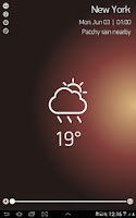 Screenshot of Weather Forecast for 15 days
