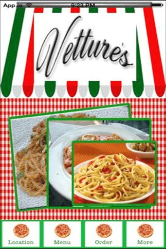 Vetture's Restaurant Pizzeria