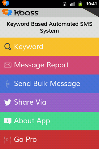 KBASS Lite -An Auto SMS System