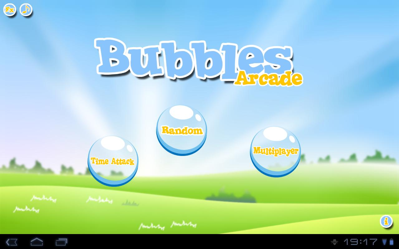 Bubble for tablet- screenshot