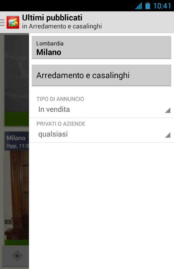 Applications android sur google play for Subito casa milano