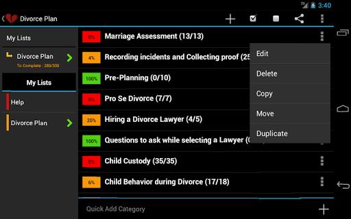Divorce Planner - FREE