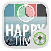 Happy Time GO Locker Theme