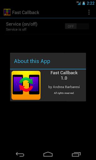 Fast Callback