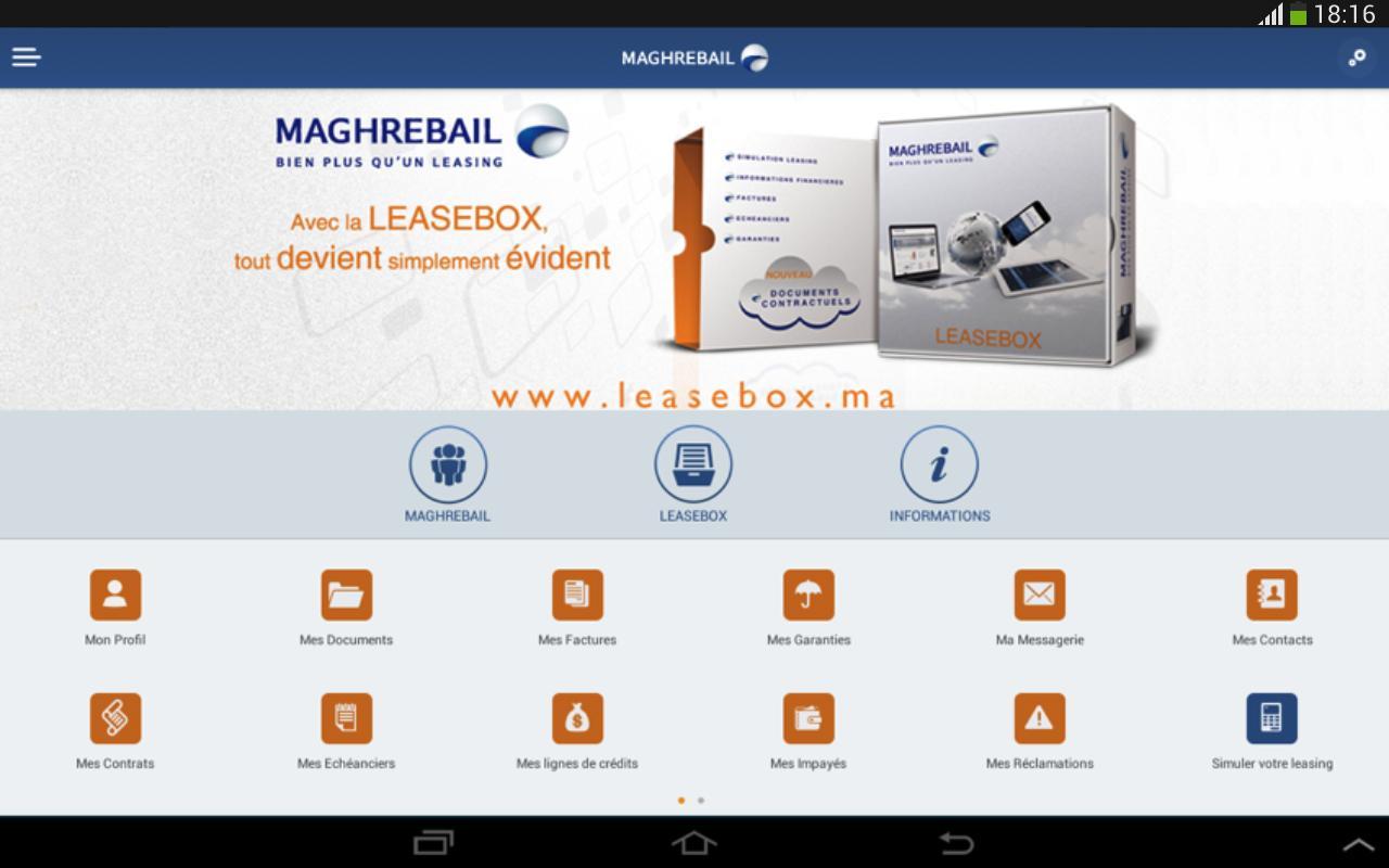 Maghrebail - screenshot