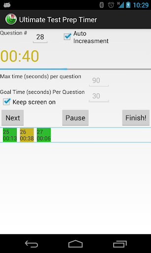 Ultimate Test Prep Timer