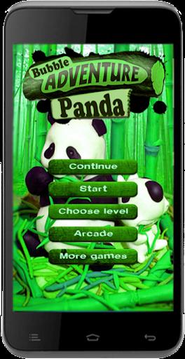 Bubble Panda Adventure
