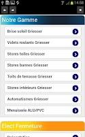 Screenshot of Elect Fermetures