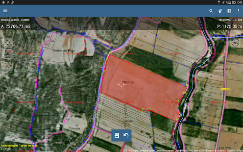 Map Pad GPS Land Surveys & Measurements- screenshot thumbnail