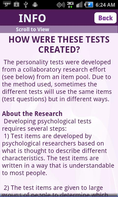 personality test research paper Borderline personality disorder research paper the main features of this disorder are behavior that is impulsive, dramatic, and often read more here.