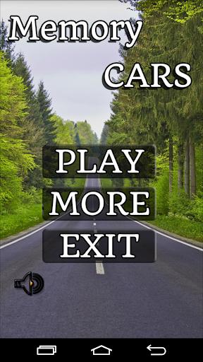 Cars Memory Game 2015