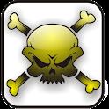 Skull Bones doo-dad bg logo