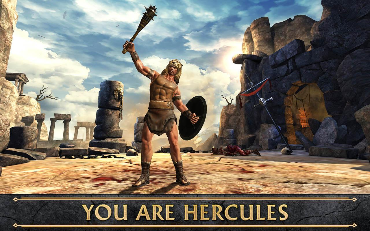 HERCULES: THE OFFICIAL GAME- screenshot