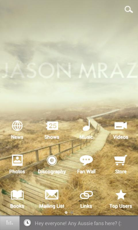 Jason Mraz - screenshot