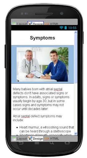 【免費醫療App】Atrial Septal Defect Disease-APP點子