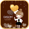 Dasom party go locker theme icon