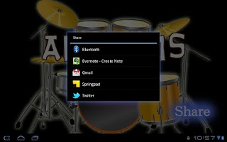 Screenshot of Andrums for Tablet