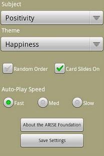 ARISE Positivity Cards- screenshot thumbnail