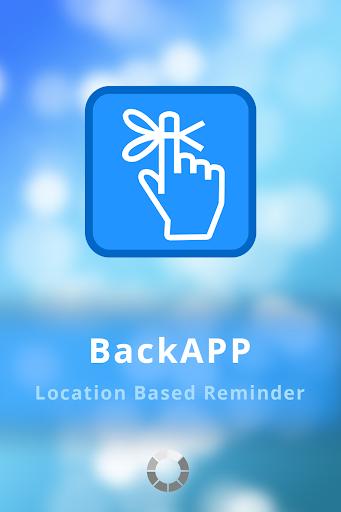 BackAPP free geofence reminder