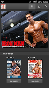 IRON MAN Magazine (SE) screenshot