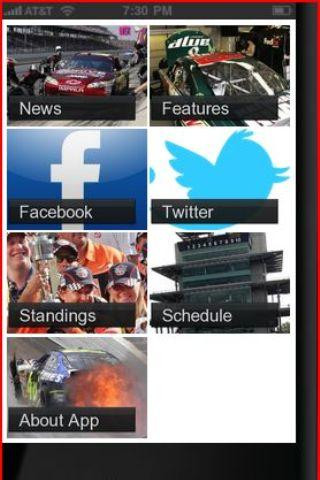 2013 NASCAR News - screenshot
