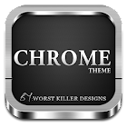 CHROME APEX NOVA GO ADW THEME icon