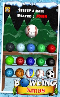 Bowling XMas- screenshot thumbnail