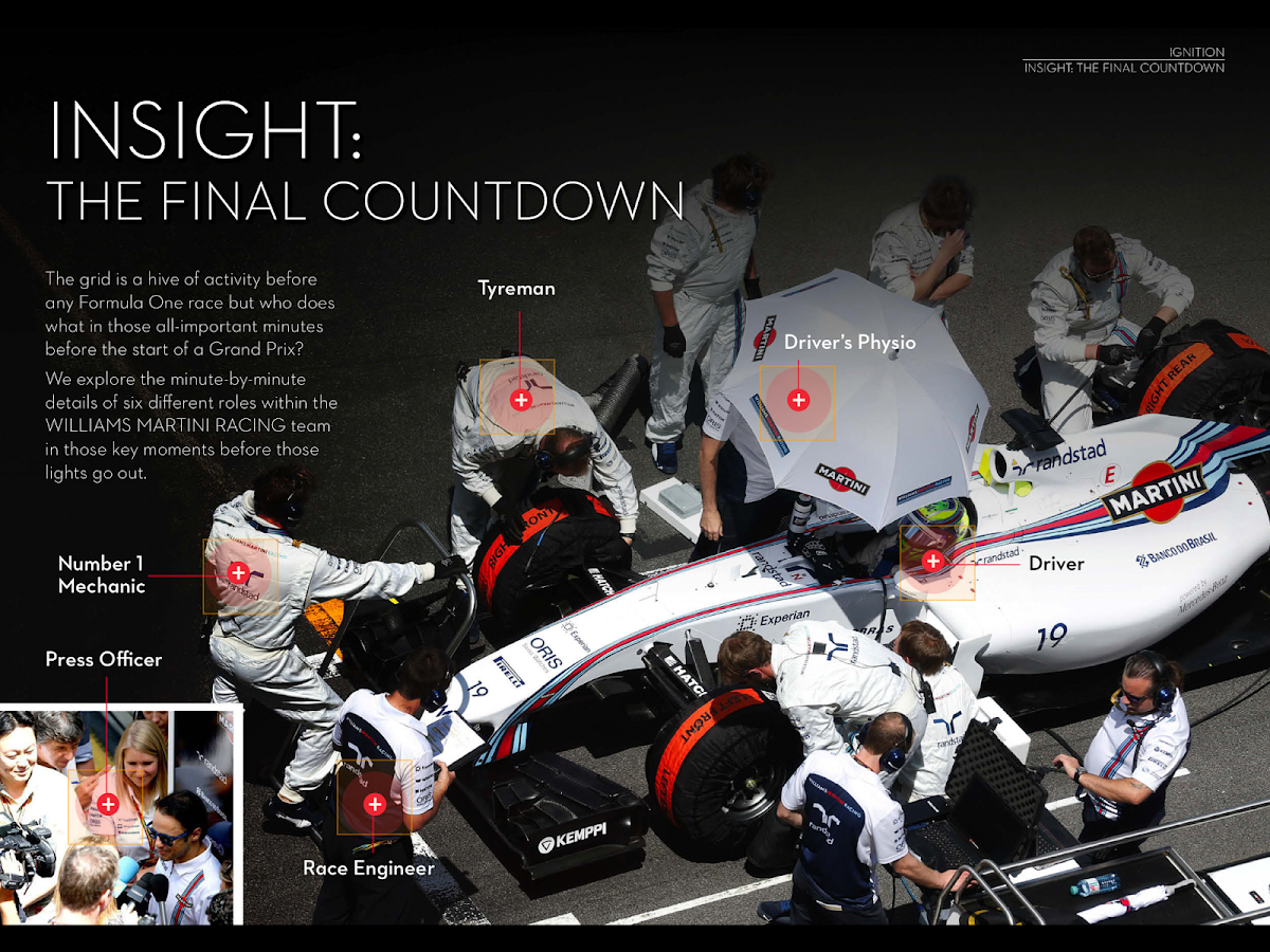 iGNITION The Williams Magazine- screenshot