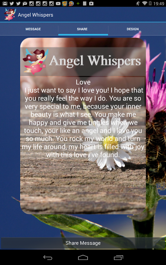 Angel Whispers- screenshot