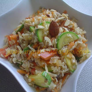 Rice with Vegetables.